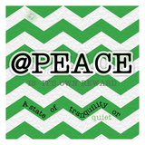 Peace Instaquote Poster by Tony Pazan