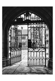 Arched Entry 1 Print by Sandro De Carvalho