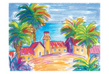 Southern Village Prints by Anne Ormsby