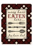 Eaten Here Kunstdrucke von Diane Stimson