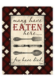 Eaten Here Prints by Diane Stimson