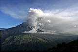 The Tungurahua Volcano Erupts at the Andean Centre Region of Ecuador Photographic Print by Jose Jacome