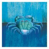Blue Crab Posters by Elizabeth Jordan
