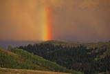 Rainbow at Huntington Canyon, Utah Photographic Print by George Frey