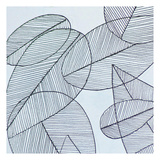 Grey Leaf Prints by Pam Varacek