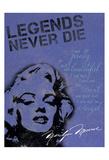 Legends Never Die - Blue Prints by Lauren Gibbons