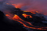 Fingers of Lava Photographic Print by Bruce Omori