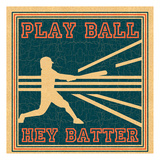 Play Ball Posters by Tony Pazan