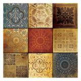 9 Patch Pattern Prints by Jace Grey