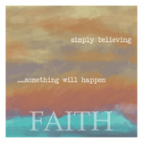 Simply Faith Prints by Taylor Greene