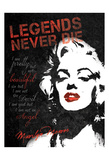 Never Die Posters by Lauren Gibbons