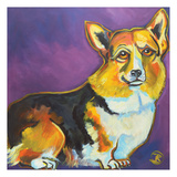 Corgi 2 Prints by Ilene Richard