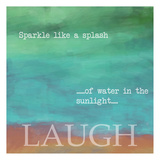 Laugh Print by Taylor Greene