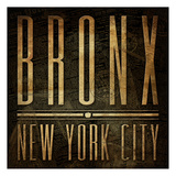 Bronx Print Posters by Jace Grey