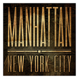 Manhattan Print Prints by Jace Grey