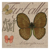 Copper Butterfly Posters by Lorraine Rossi