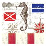 Nautical 1 Posters by Elizabeth Jordan