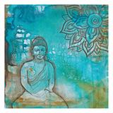 Serenity Buddha I Print by Pam Varacek
