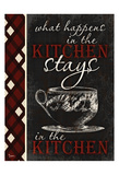Stays In Kitchen Print by Diane Stimson