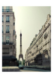 Dawn Paris Print by Tracey Telik