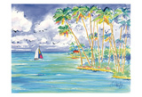 Tropical Sail Posters by Anne Ormsby