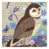 Floral Owl Frenzy II Prints by Margaret Reule