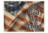 In God We Trust Posters af Diane Stimson