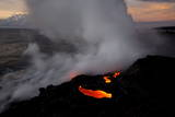 Volcanic Activity Photographic Print by Bruce Omori