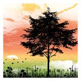 Silo Tree Lámina por Jace Grey