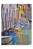 Venice Canal 2 Posters by Pam Varacek