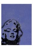 Marilyn Purple Posters by Lauren Gibbons