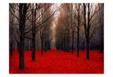 Fairy Tale Autumn Plakat av Tracey Telik