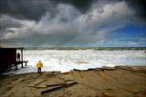Aftermath of a Heavy Storm on a Beach Photographic Print by Robin Utrecht