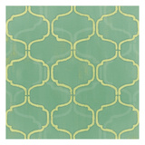 Green Geometry Print by Patti Sechi