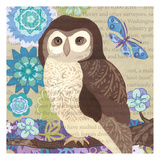Floral Owl Frenzy I Posters by Margaret Reule