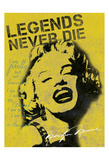 Legends Never Die Poster by Lauren Gibbons