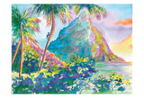 St. Lucia Rainbow Palette Posters by Anne Ormsby