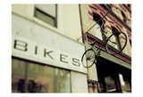 Bikes Prints by Tracey Telik