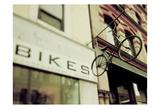 Bikes Prints by Tracey Telik