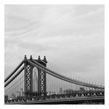 Manhattan BW Posters by Tracey Telik