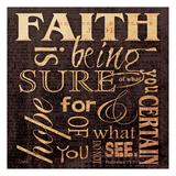 Faith Hebrews Posters par Carole Stevens
