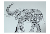Lucky Elephant Prints by Pam Varacek