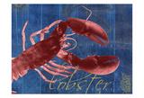 Nautical Lobster 1 Kunstdruck von Albert Koetsier