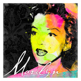 Marilyn Colorful Art by Jace Grey