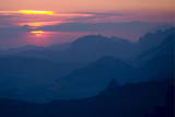 Sunrise View from the Fronalpstock Mountain Photographic Print by Alessandro Della Bella
