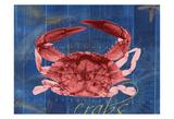 Nautical Crab 1 Posters by Albert Koetsier