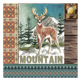 High Country Mountain Tile Posters by Anne Ormsby