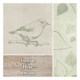Inspire Hope Dream Bird Prints by Taylor Greene