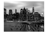 Skyline Manhattan Prints by Tracey Telik