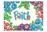 Faith Prints by Erin Butson